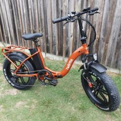 Fat Bike pliant TWISTER -...